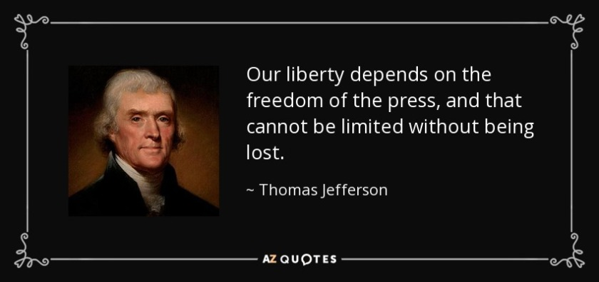 Press Freedom quote